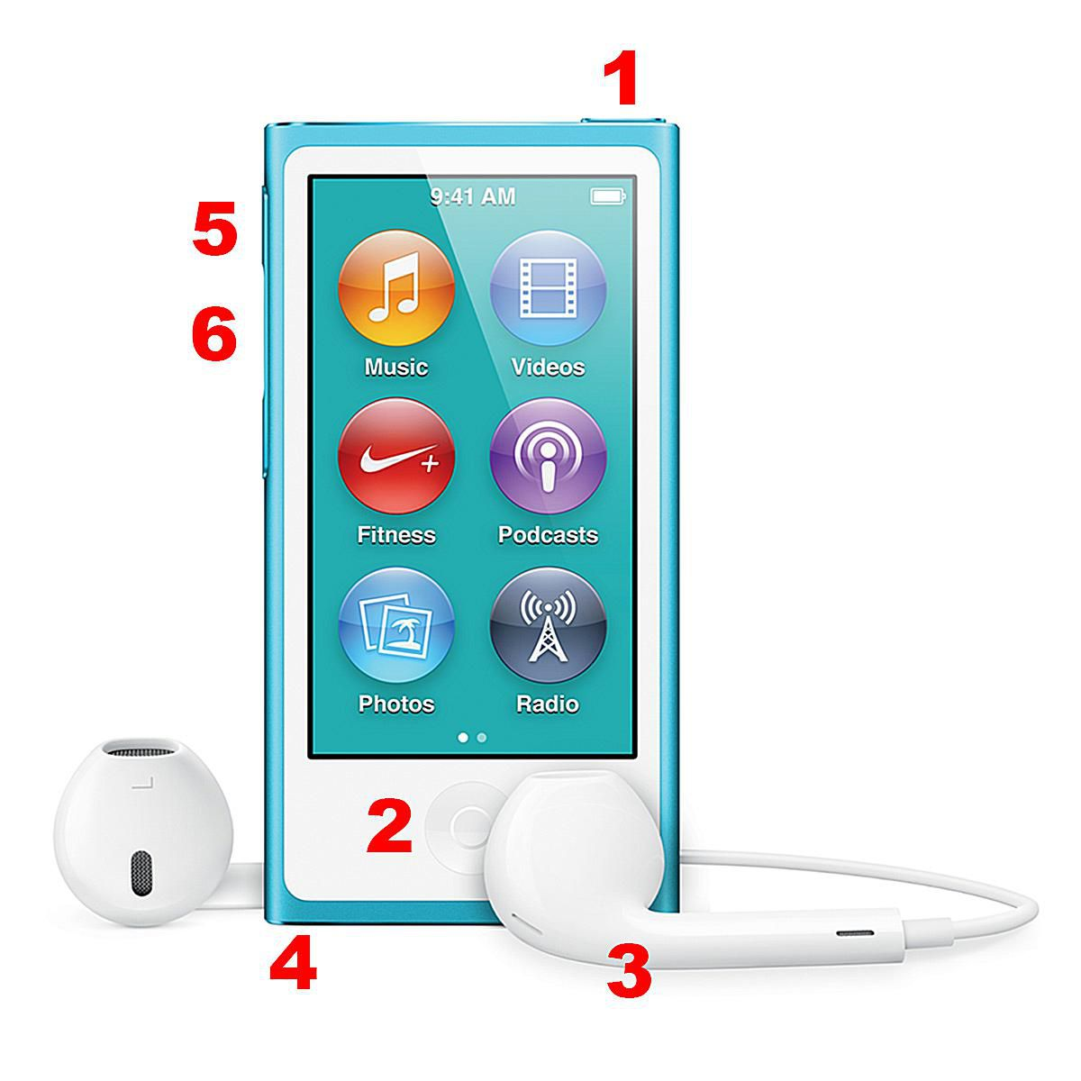 Anatomy Of The 7th Generation Ipod Nano Hardware Wiring Diagram For Shuffle Port