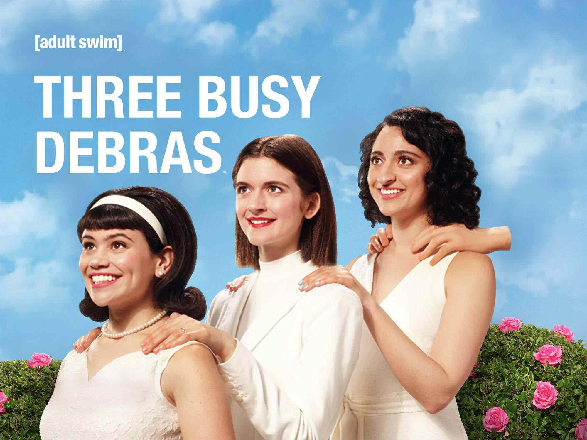 The cast of Three Busy Debras