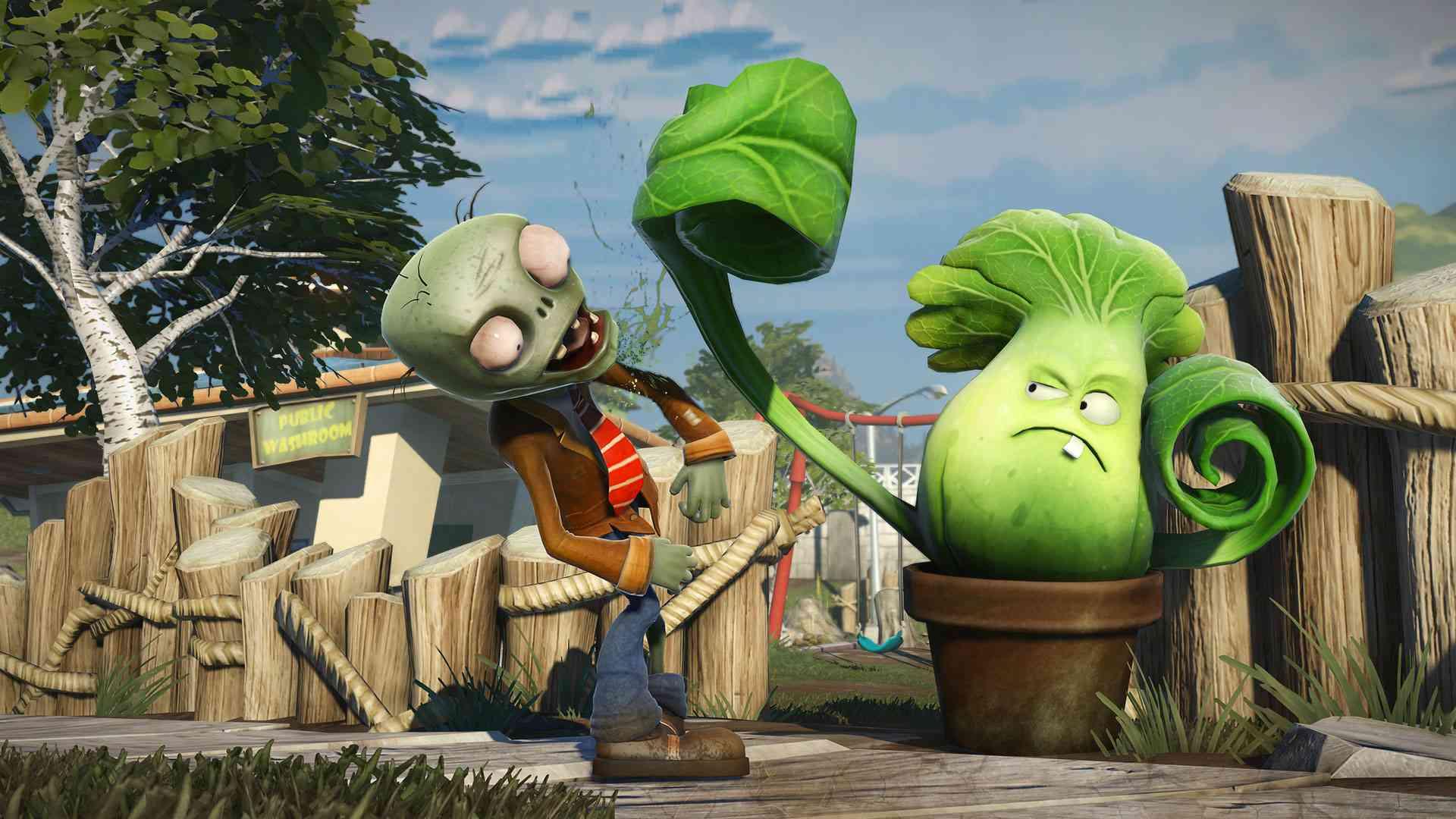 Promo poster of Plants vs Zombies: Garden Warfare