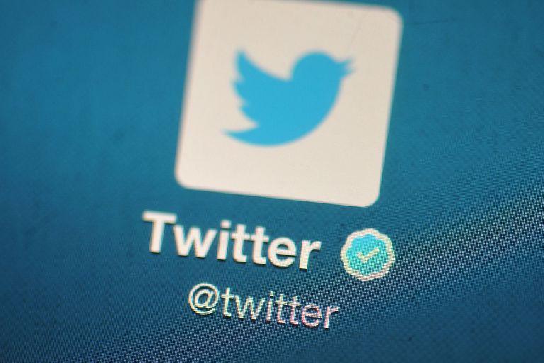 Screenshot of the Twitter logo
