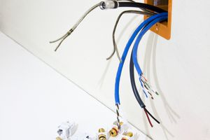 Wiring a Multimedia Outlet