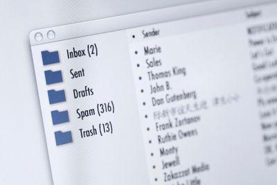 OS X Mail inbox