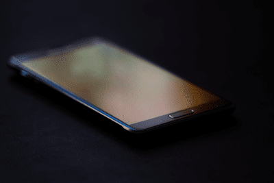 Image of a Samsung phone