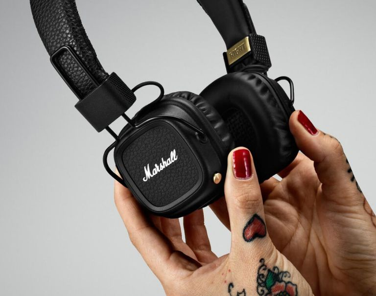 The Marshall Major II Bluetooth headphones