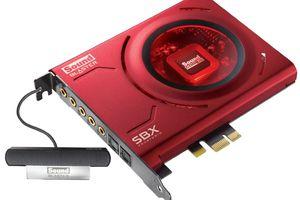 Sound Blaster Z PCIe Gaming Sound Card