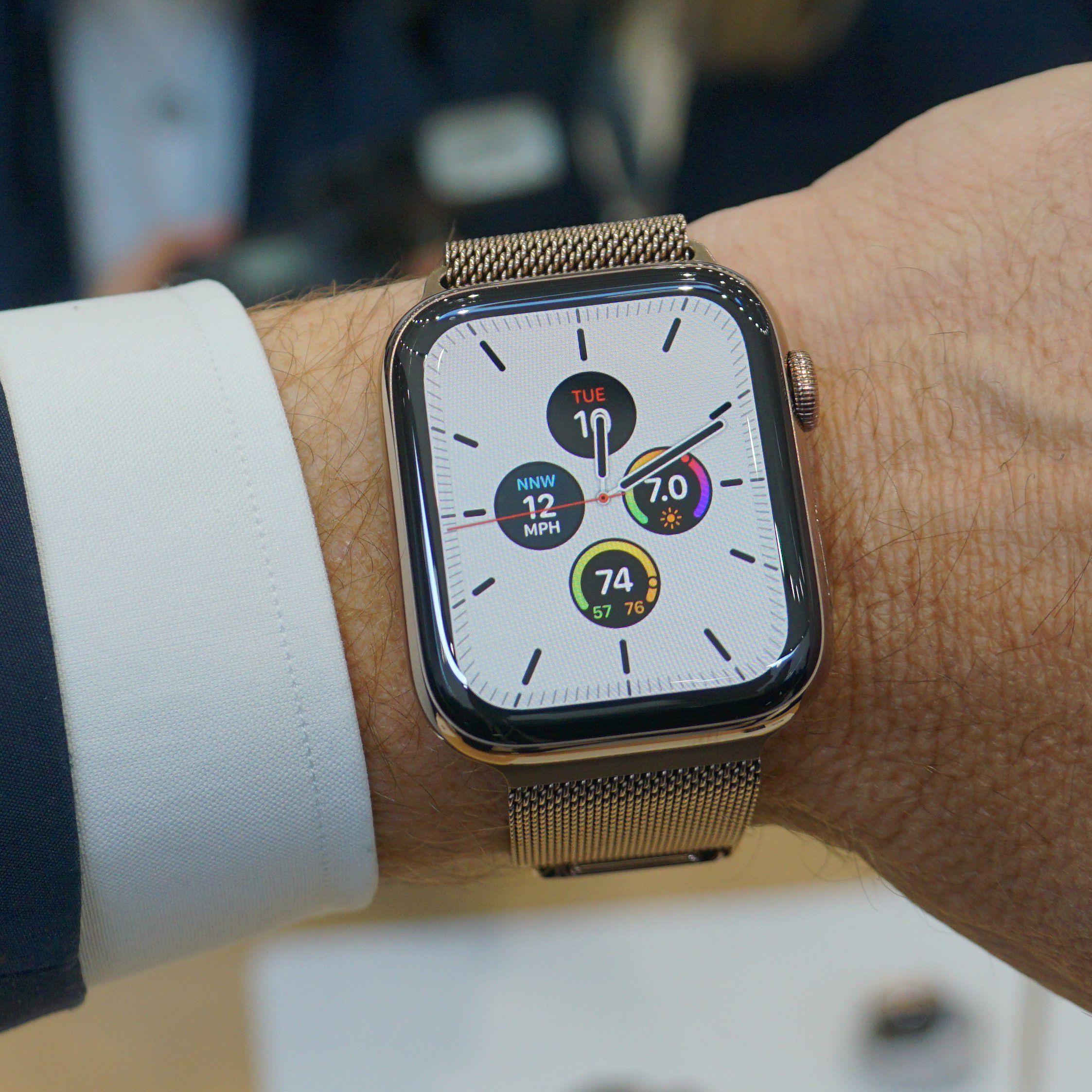Hands On Apple Watch Series 5