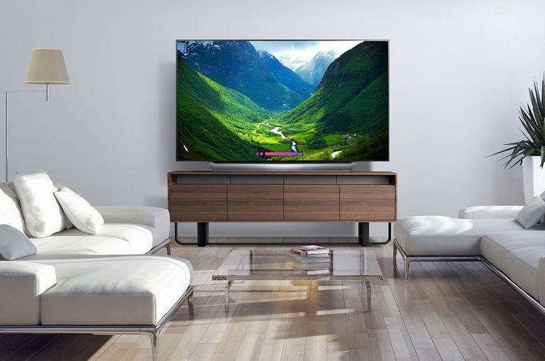 LG OLED TV in Living Room