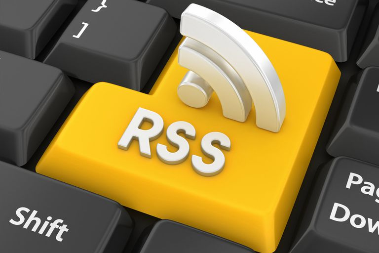yellow rss enter key and silver rss 3d icon
