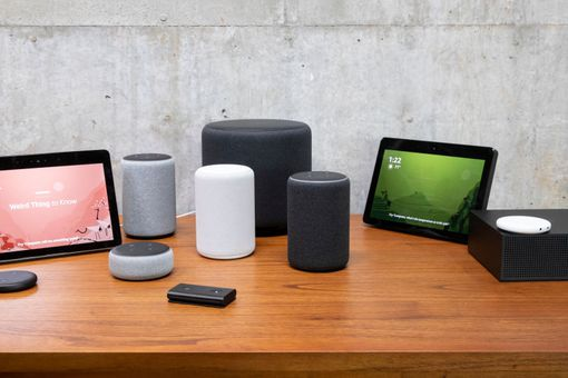 A suite of Alexa-enabled devices