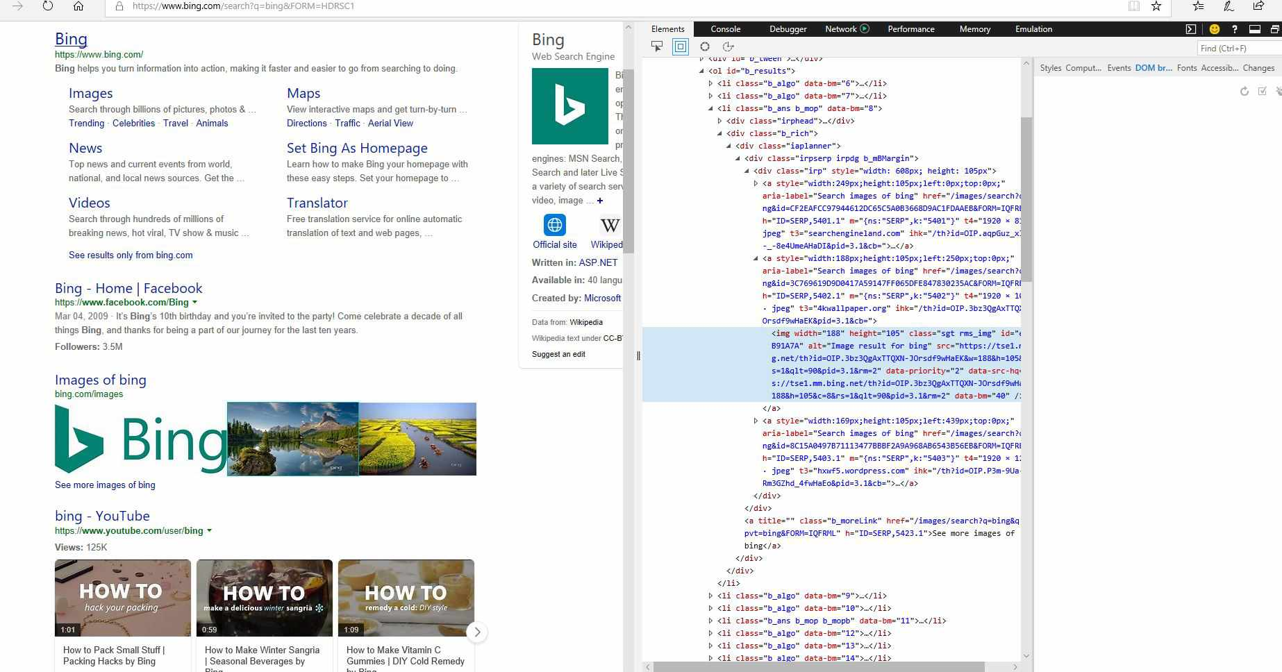 How to Copy an Image's URL in Microsoft Edge