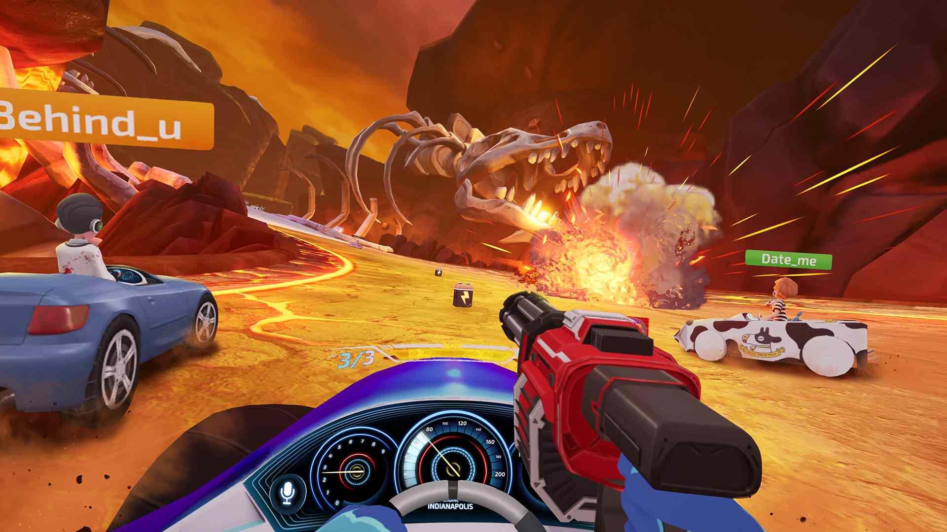Dash Dash World on Oculus Quest.