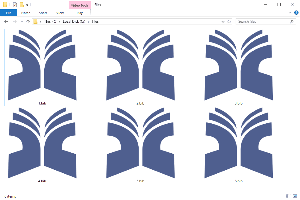 Open, Edit, and Convert BIB and BIBTEX Files