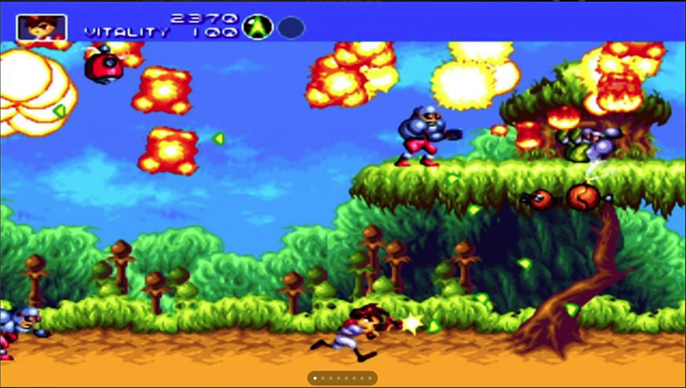 Gunstar heroes game for Xbox One