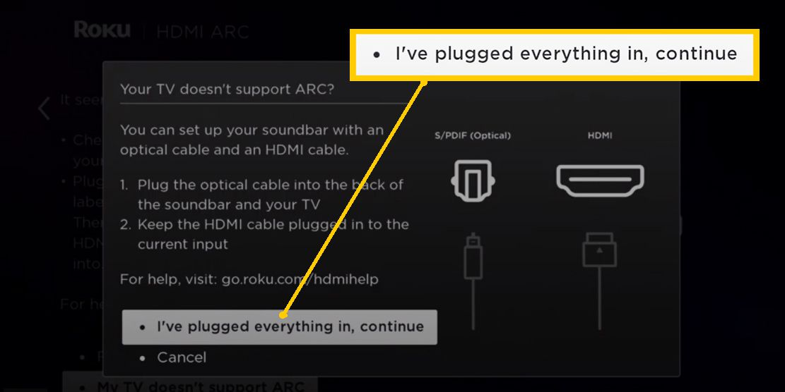Roku Soundbar Setup – Everything Plugged In
