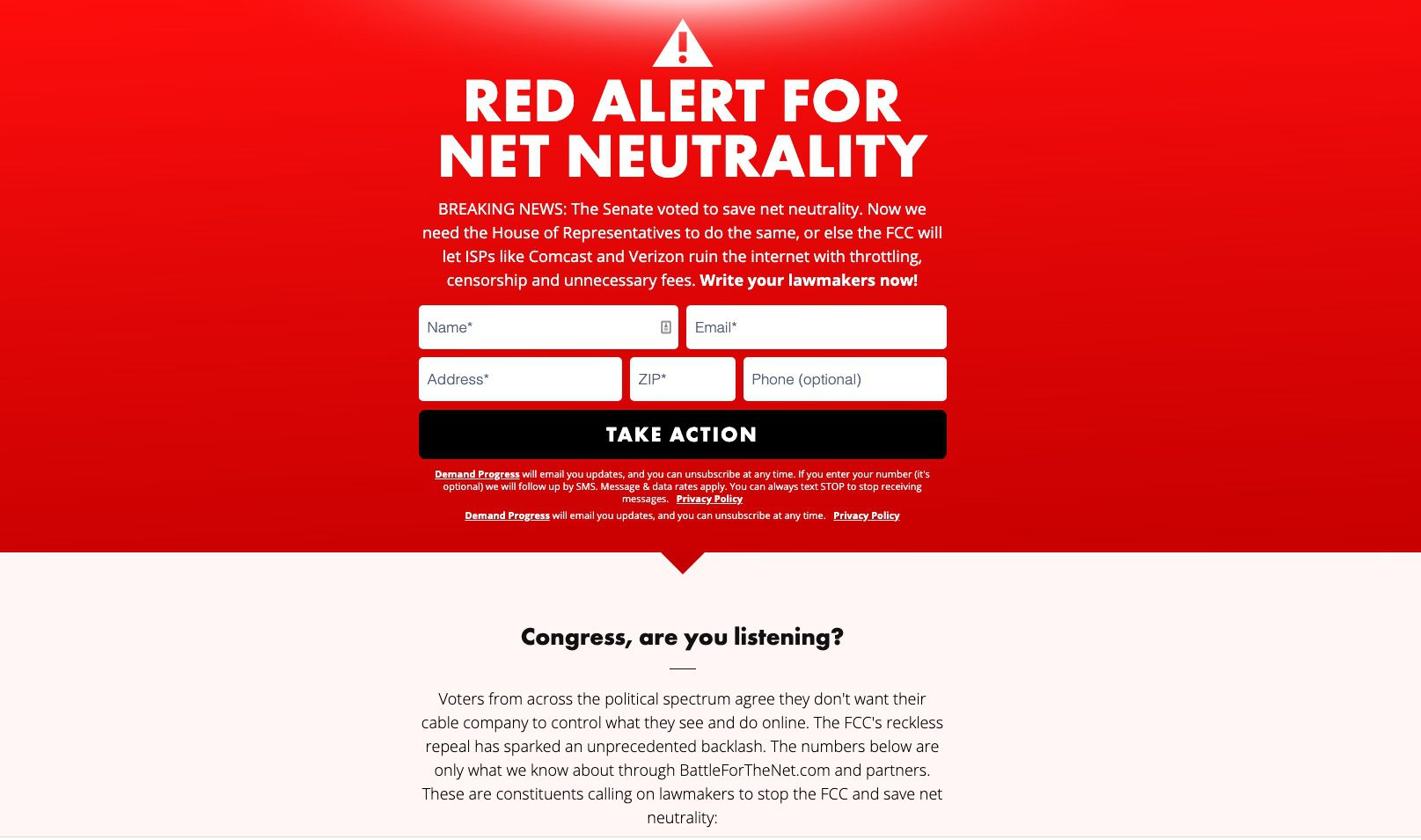 Red Alert fill-in box for business owners.