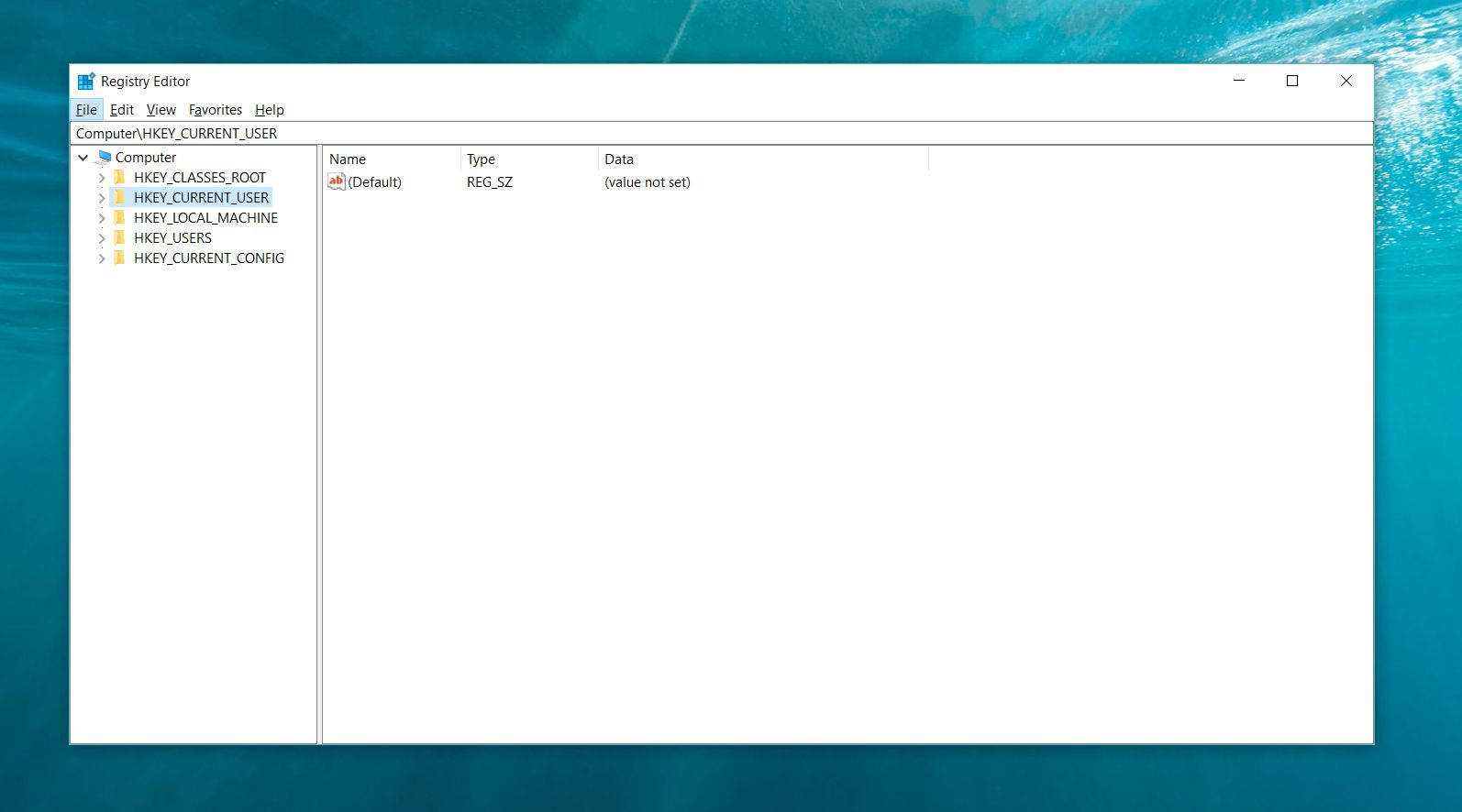 how to see registry in windows 10