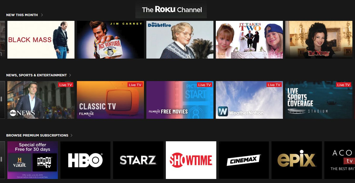 Roku Channel Example