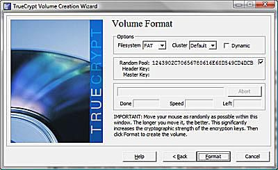 TrueCrypt on-the-fly encryption