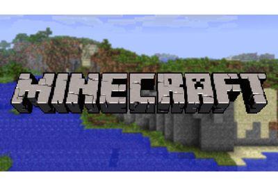 Minecraft logo screenshot