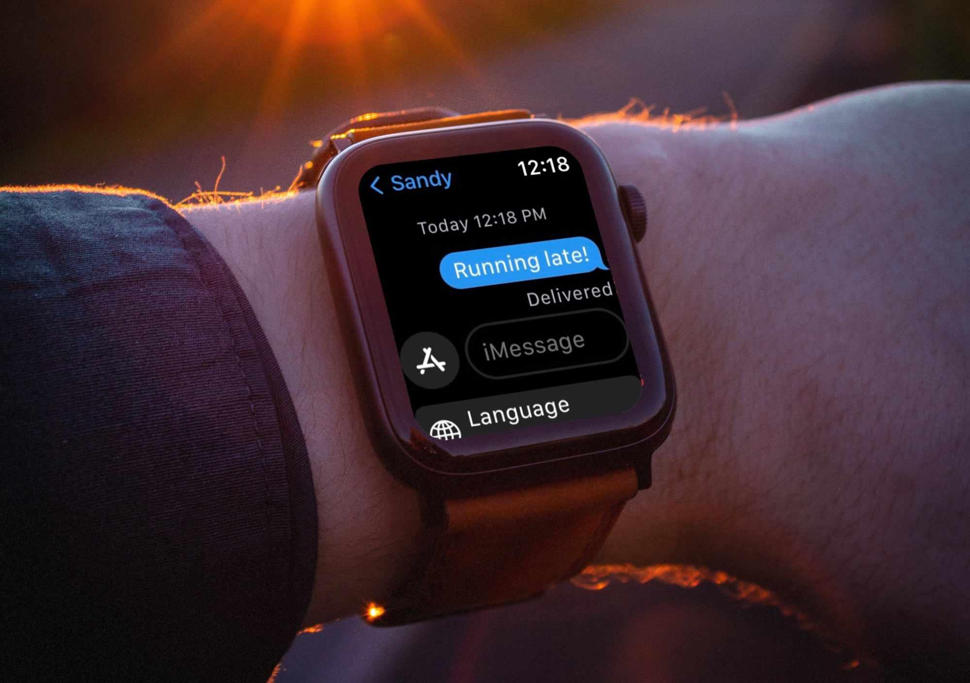 Use custom response on Apple Watch