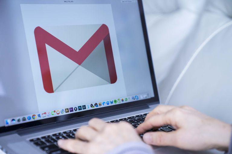Gmail on a desktop