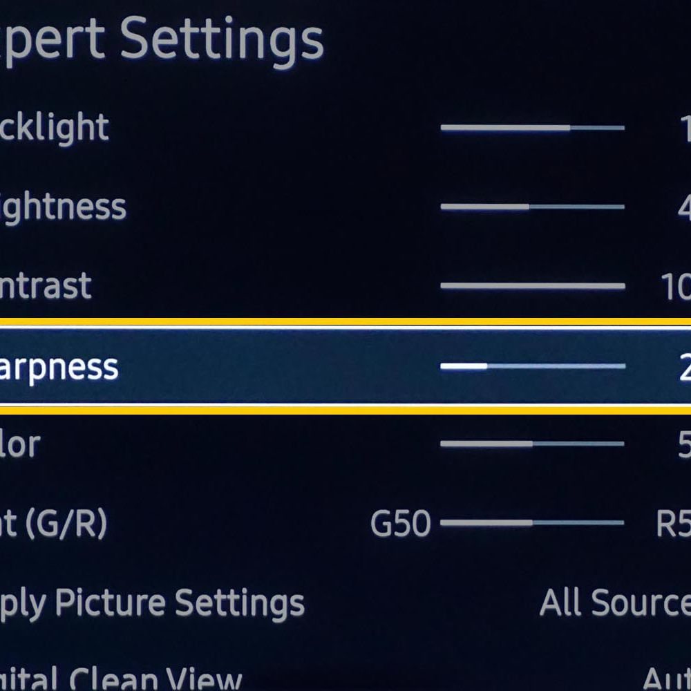 What is TV Sharpness and How is it Different From TV Resolution?
