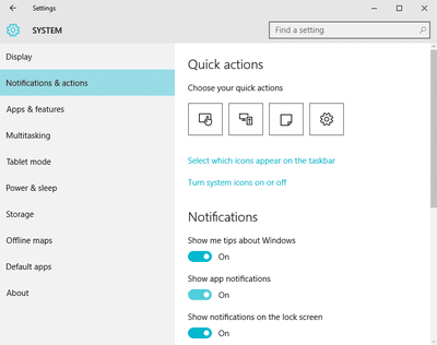 how to set notifications for specific folders in outlook