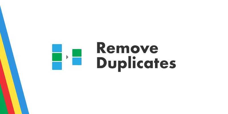 Remove Duplicates Logo