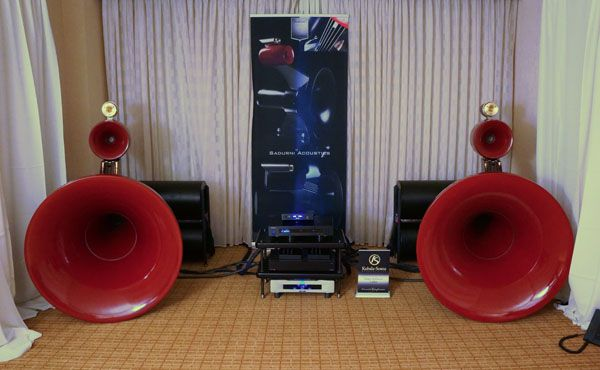 Sadurni Acoustics speakers