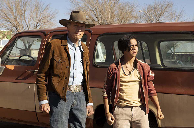 Clint Eastwood and Eduardo Minett in 'Cry Macho'