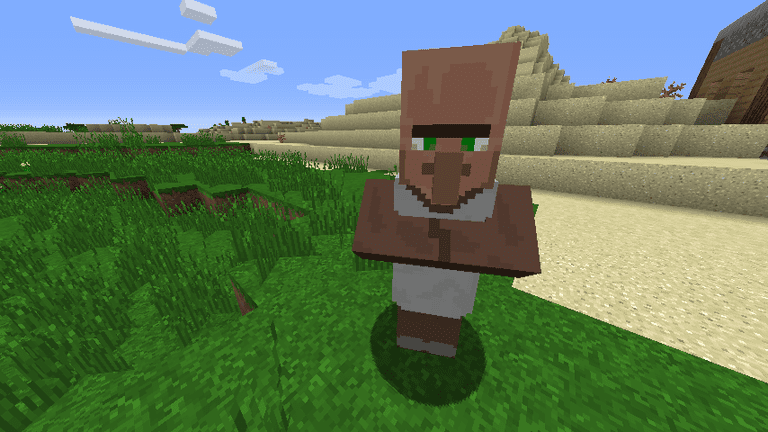 Minecraft Villager Librarian