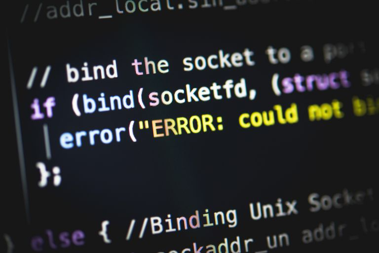 Syntax error in programming