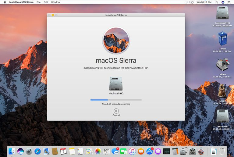 How to upgrade install macos sierra safely on your mac install progress macos sierra ccuart Images