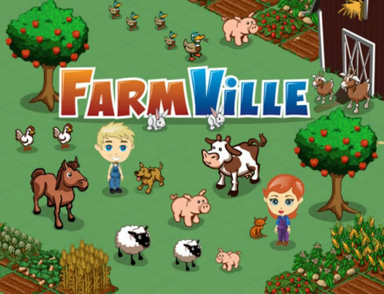 FarmVille Facebook game