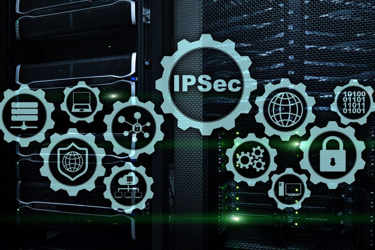Illustration IPSec concept image