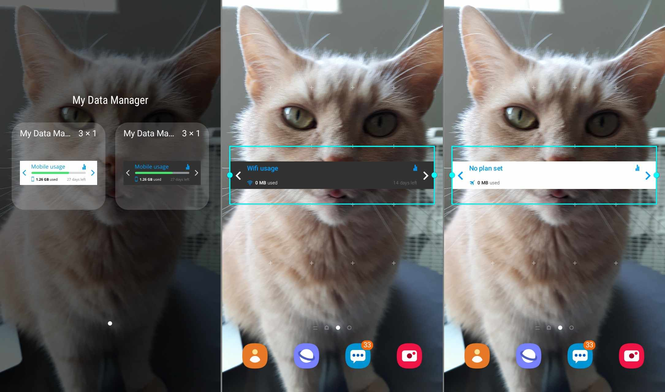My Data Manager widget for Android