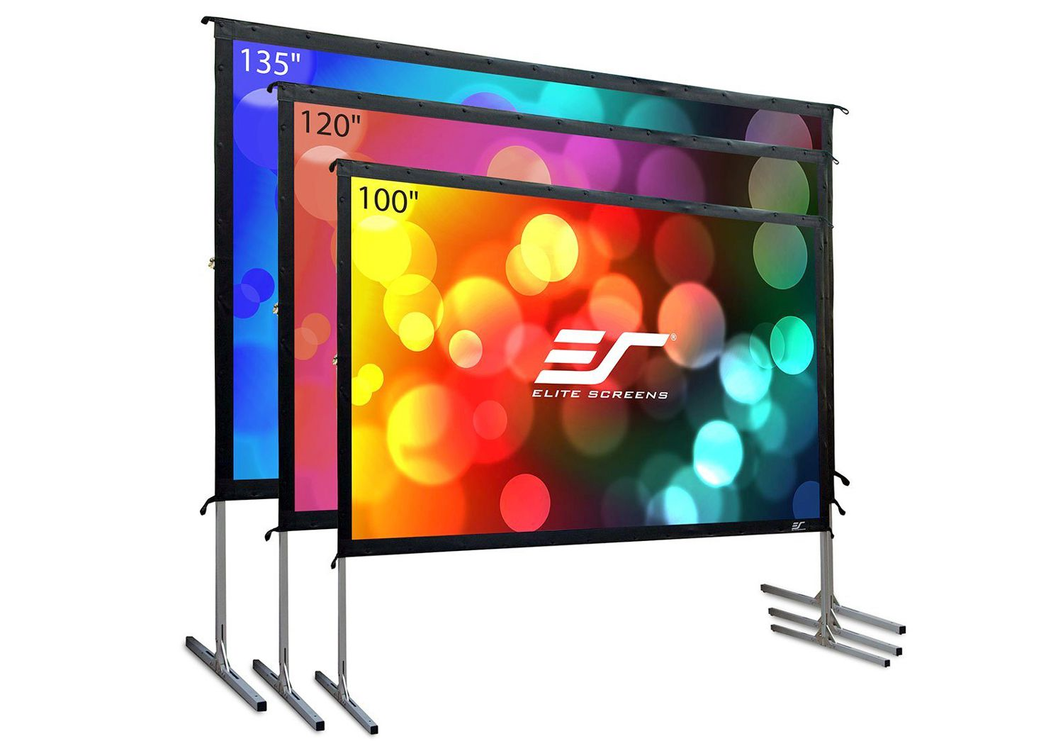 Elite Screens OMS120H2 Yard Master 2 Outdoor Projection Screen
