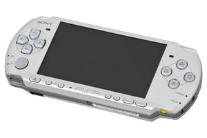 Silver PSP-3000