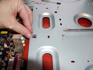Installing motherboard standoffs on a motherboard tray