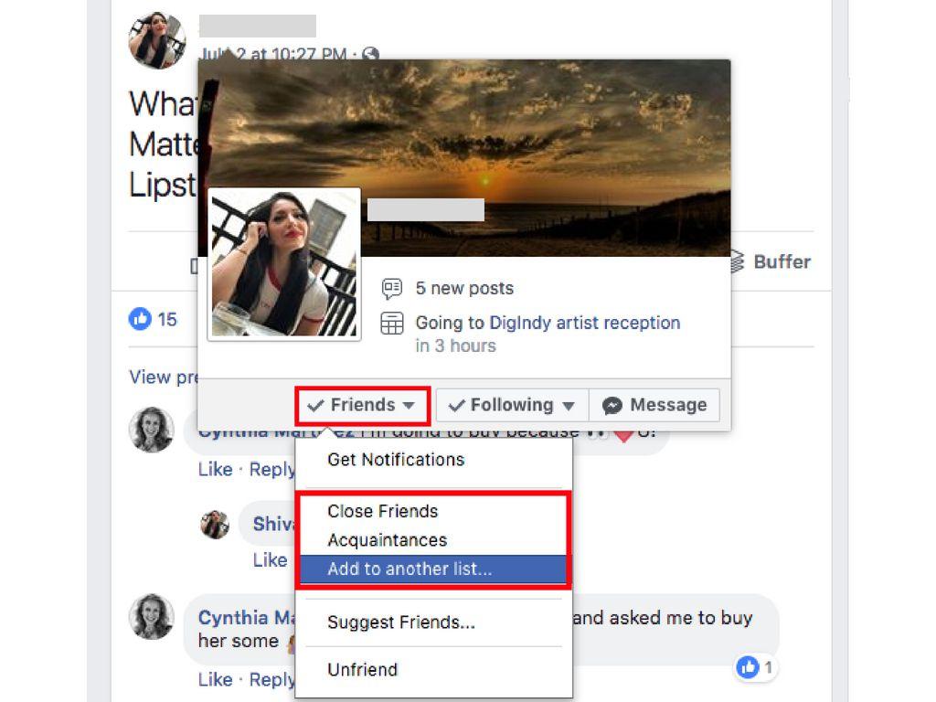 How to Create a Custom Facebook Friends List