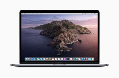 macOS Catalina on a MacBook Pro