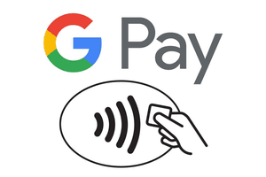 Picture of the Google Pay symbols