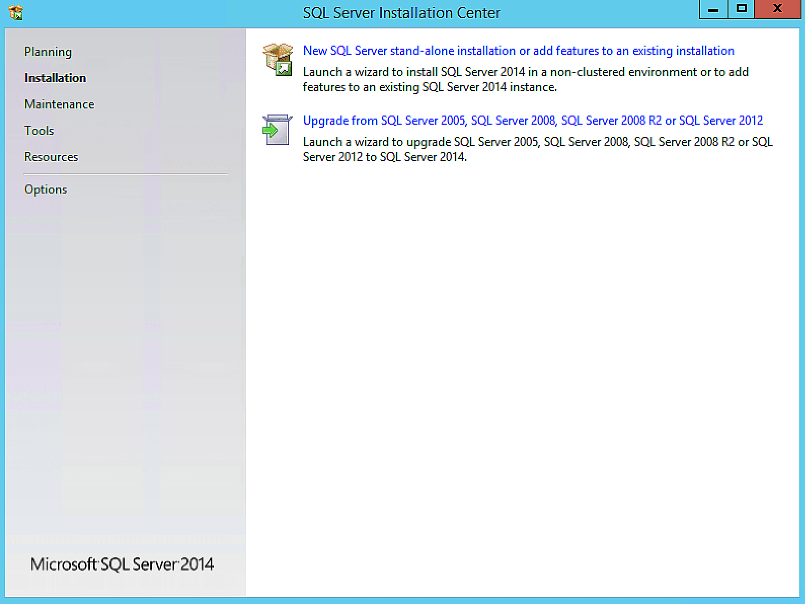 install microsoft sql server 2005 on windows 10