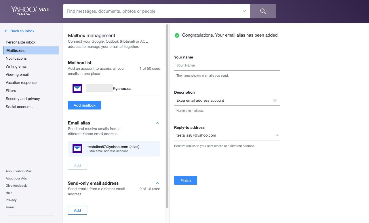 How to Create a Yahoo Email Alias