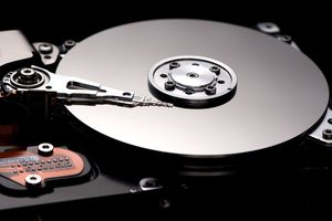 Image of hard drive internals