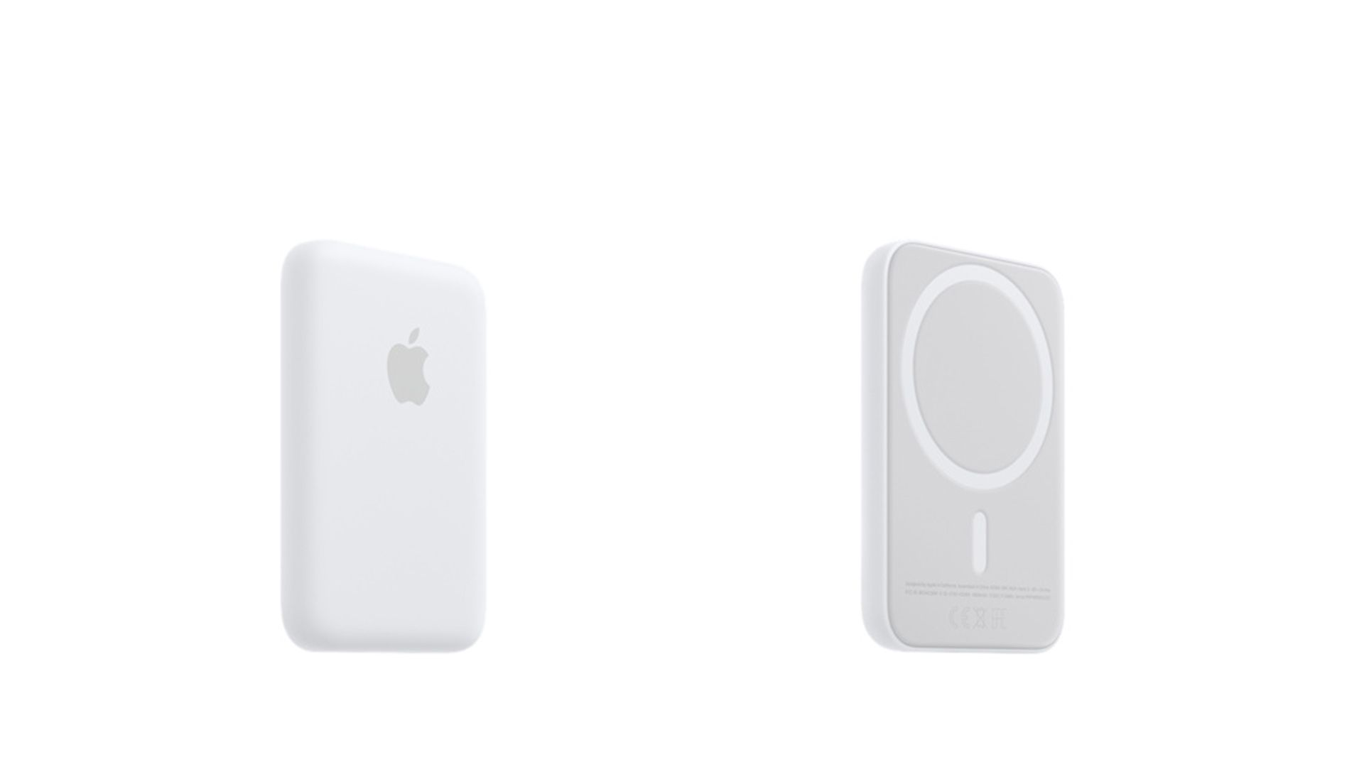Apple's MagSafe Battery Pack front and back