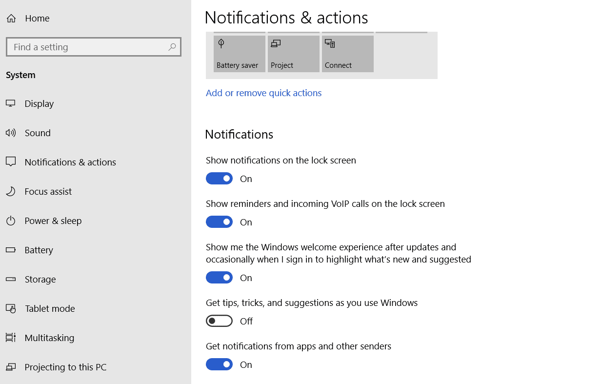 how to lower down disk usage windows 10