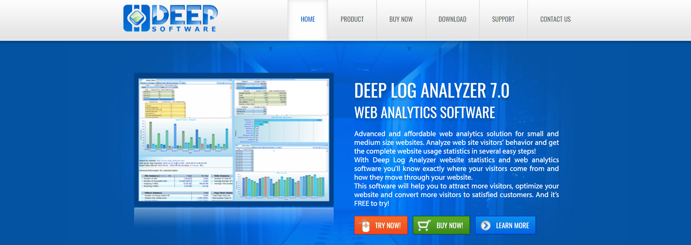 Free Web Log Analysis Tools