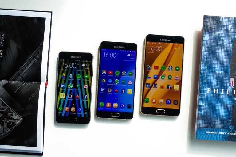 Samsung A series phones