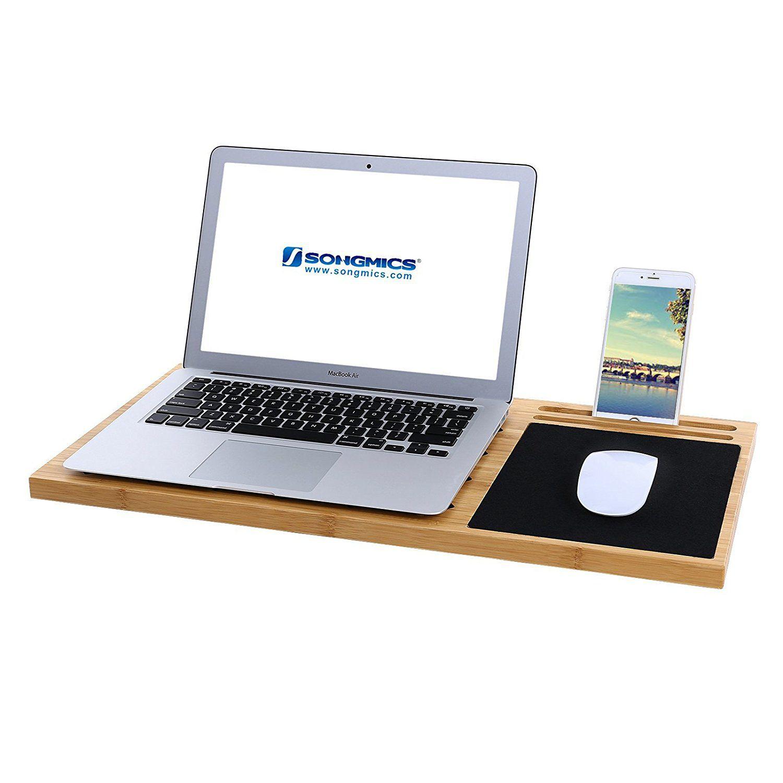 Mics Bamboo Lap Desk Board